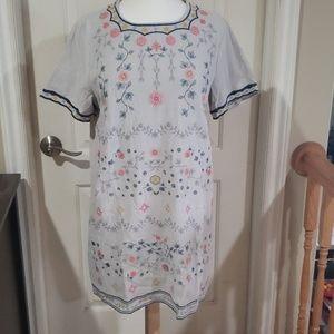 Umgee, bohemian embroidered dress / tunic